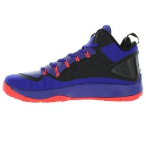 Mens Black Jordan Super Fly 2 PO Basketball Shoes